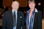 M.W. Bro. Raymond S.J. Daniels and Dr. Jessica Harland-Jacobs